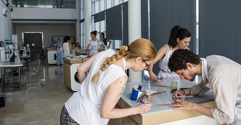 Intervención como formador en la 2ª edición del Máster de Diseño en Piel