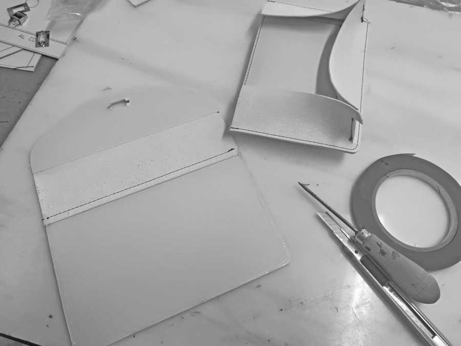 Maqueta de un bolso. Importancia de una maqueta a la hora de confeccionar patrones de bolsos.